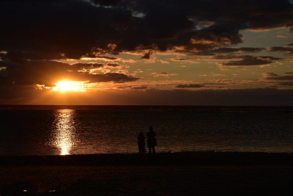 徳之島初日の出